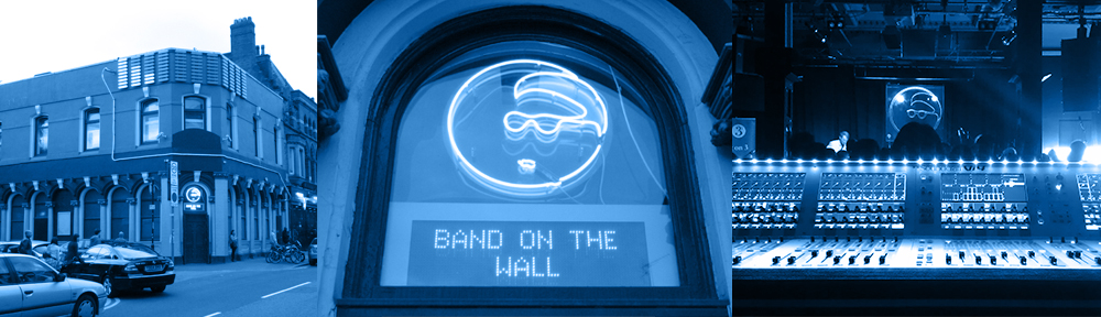 Band on the Wall LMX banner